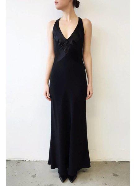 ABS by Allen Schwartz BACKLESS BLACK DRESS