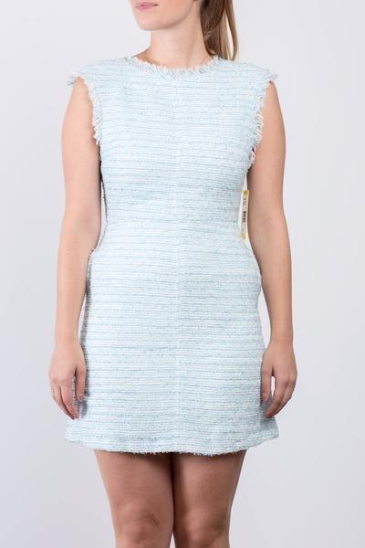 Alice + Olivia SOLDE - Robe chinée bleue et blanche - Neuve
