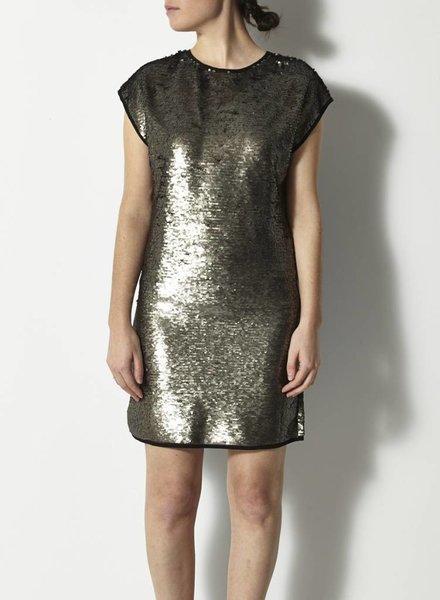 Darling SALE - GOLD GLITTER DRESS - NEW