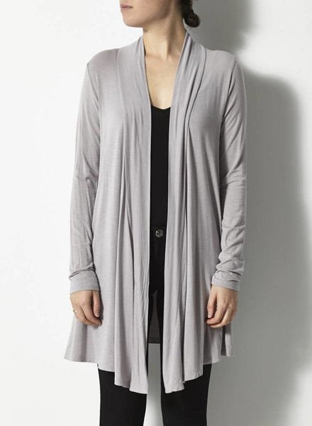 Repeat CARDIGAN SOUPLE GRIS