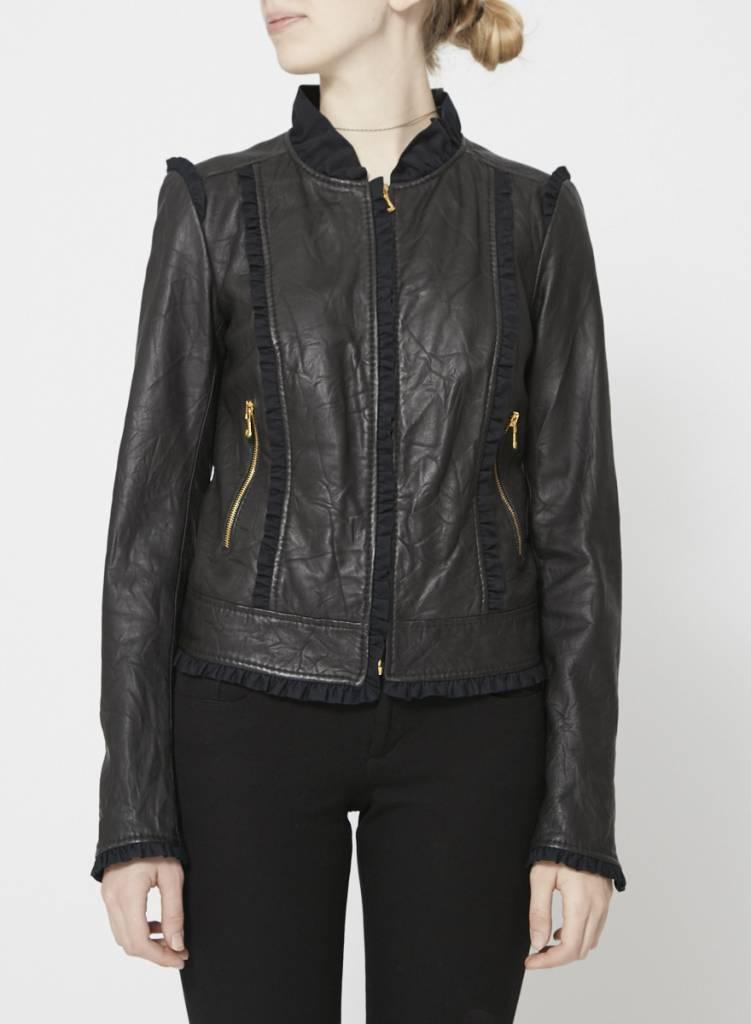 Manteau noir pas cher