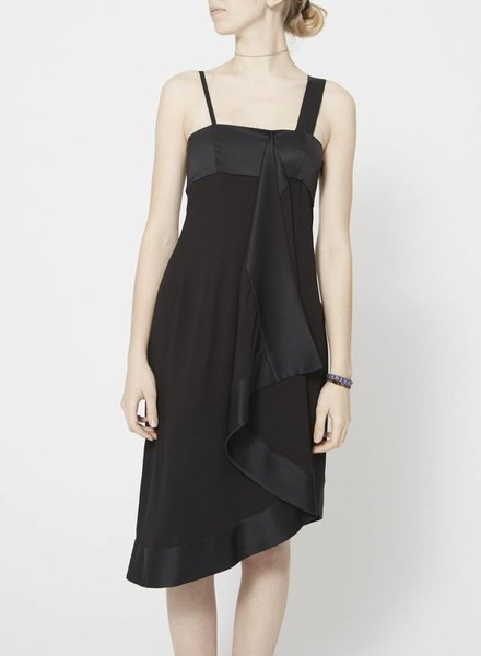 Christian Dior SILK BLACK DRESS