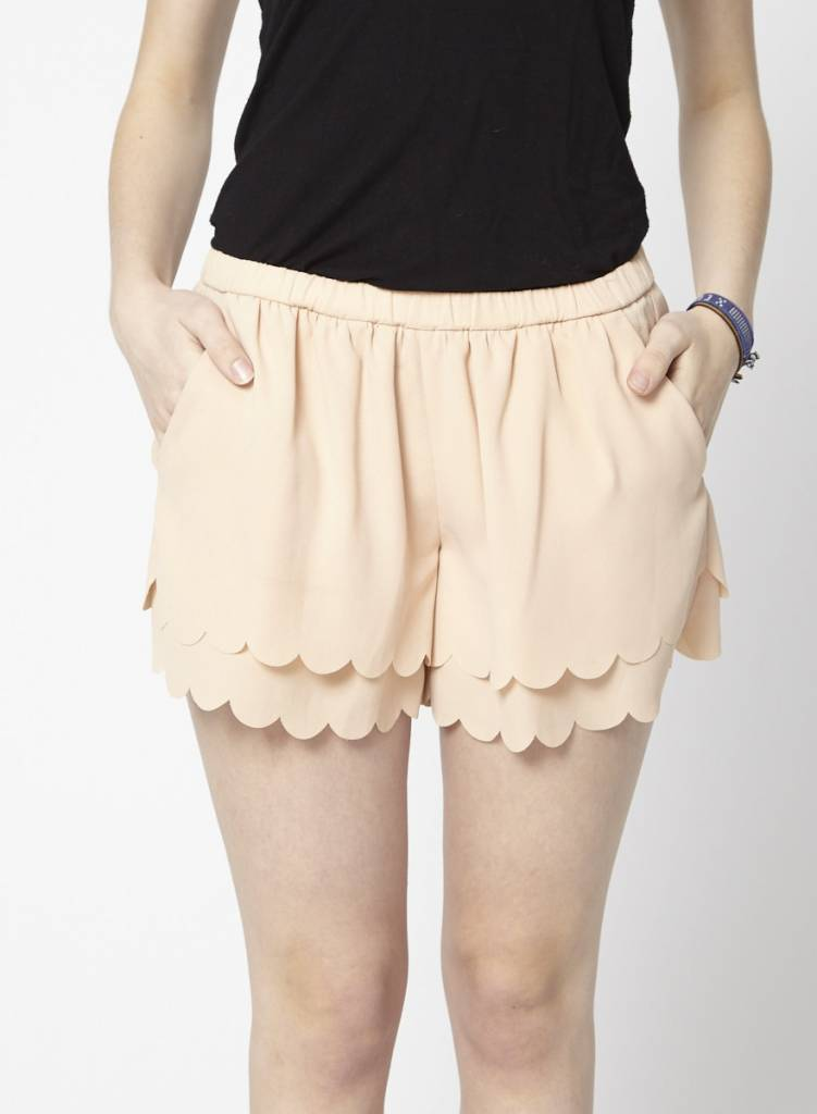 Maje Pale Pink Shorts