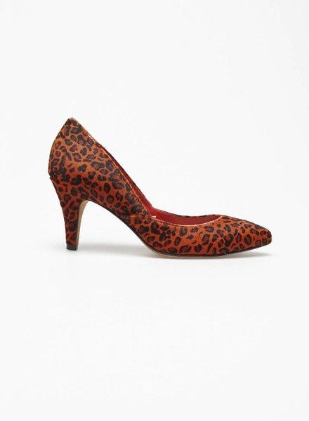Loeffler Randall SALE - RED LEOPARD LEATHER PUMPS - NEW