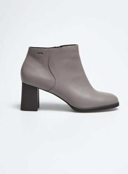 Camper FINAL SALE - GREY LEATHER BOOTIES