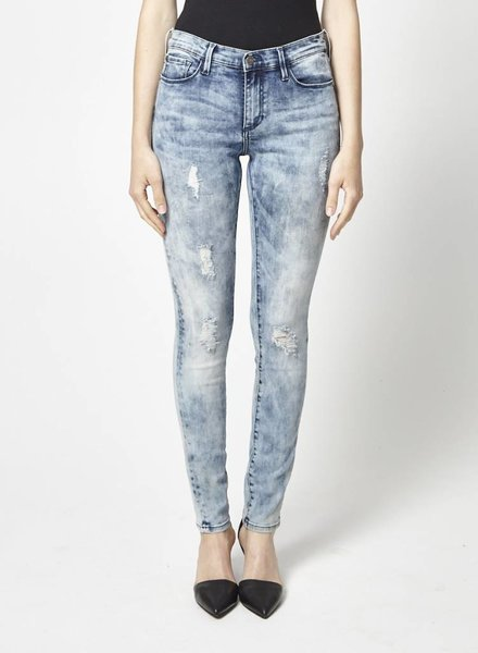 Buffalo David Bitton SKINNY BLUE WASHED JEANS