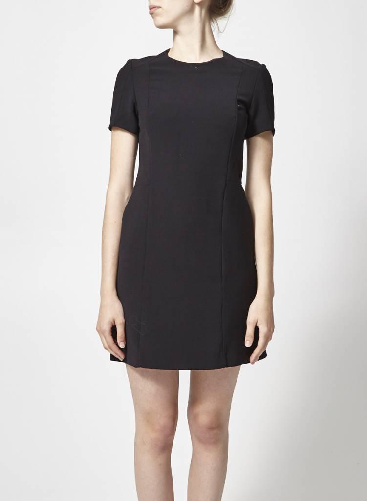 Judith & Charles Black Structured Dress