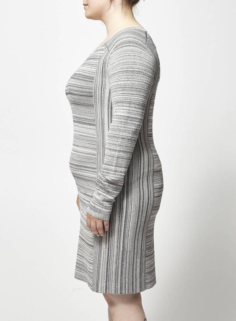 Club Monaco Robe chinée grise
