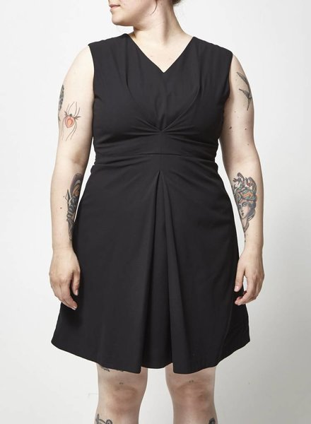 Designers Remix - Charlotte Eskildsen SLEEVE LESS BLACK DRESS