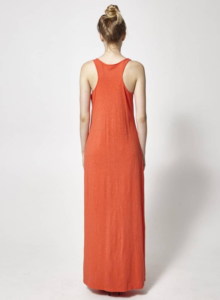 Robe longue corail - Velvet by Graham   Spencer - Deuxième édition c6a2e1ceb4c0