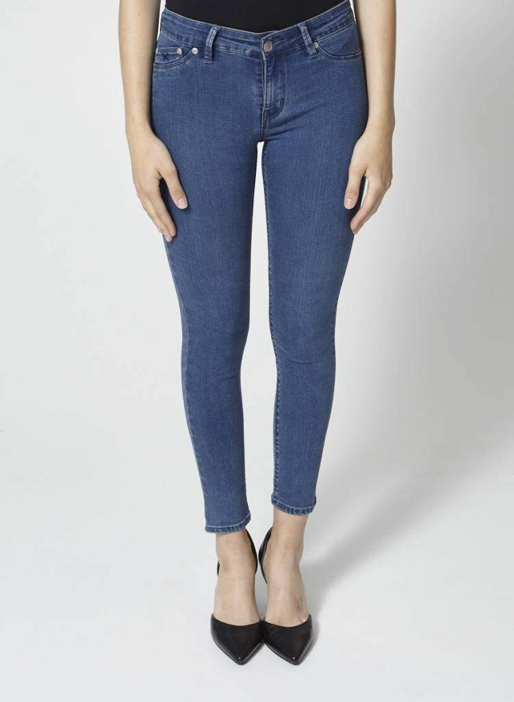 RES Denim Jeans skinny bleu