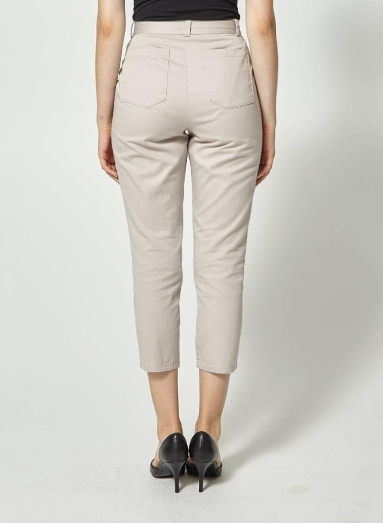 Atelier B Pantalon gris-mauve pâle