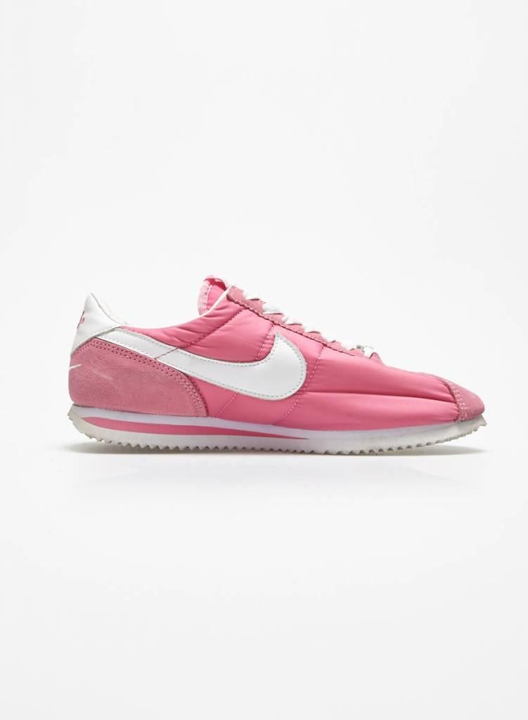 Nike Espadrilles roses  logo blanc