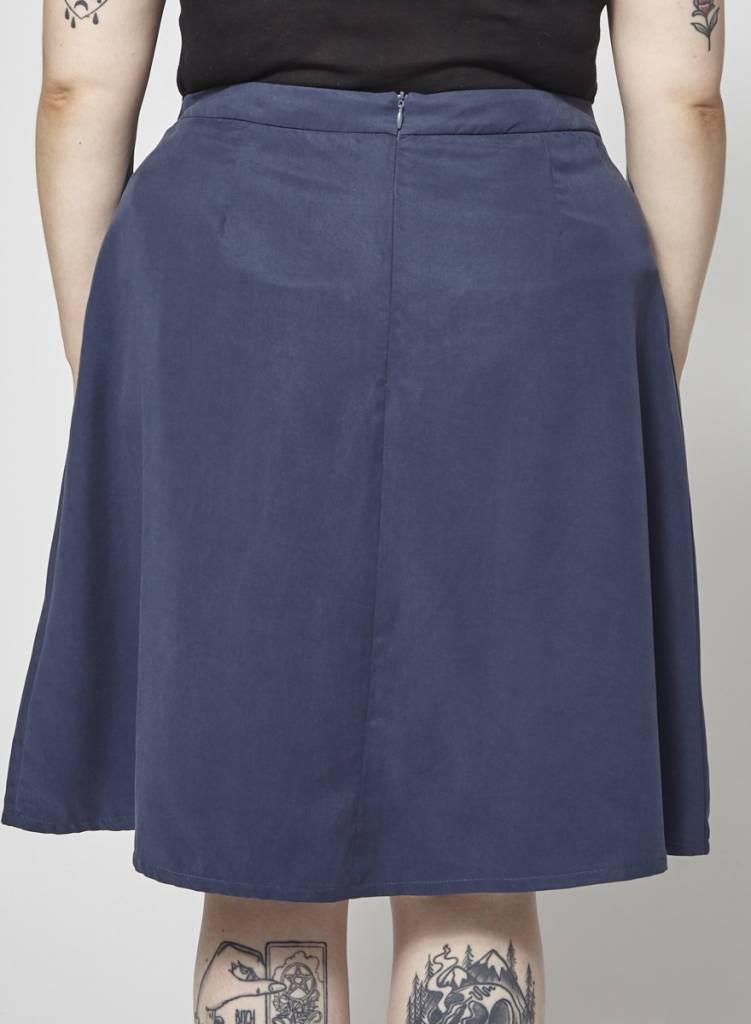 Atelier B Navy Skirt - New