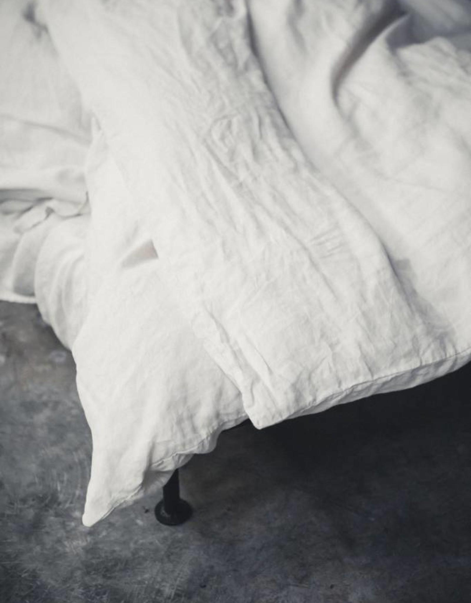 Libeco Home Santiago Duvet Cover - white