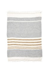 Libeco Home The Belgian Towel - ash stripe