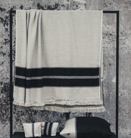 Libeco Home Marshall Throw - Multi Stripe