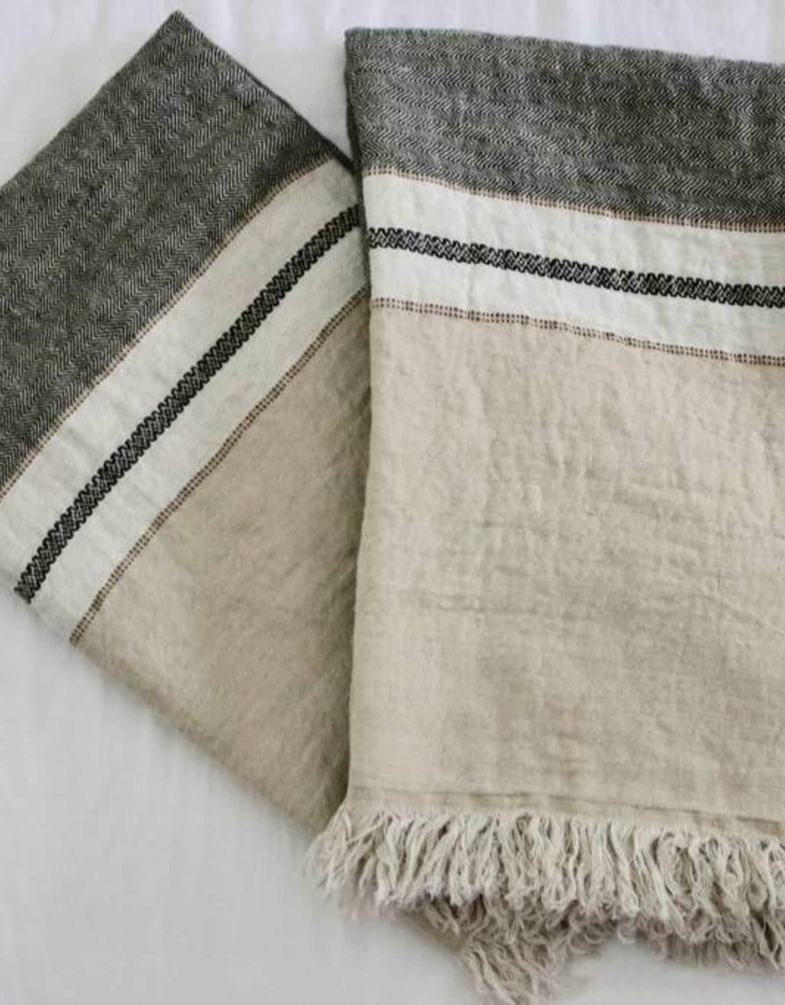 Libeco Home The Belgian Towel - Beeswax strip