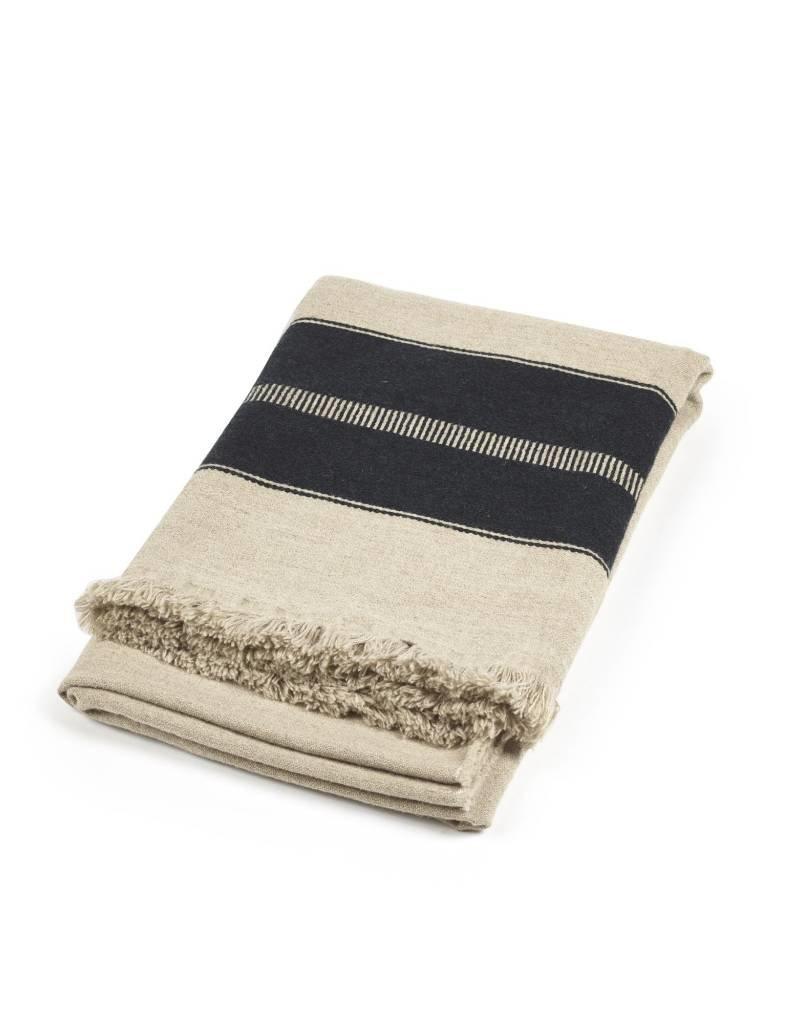 Libeco Home Marshall Throw -Multi Stripe