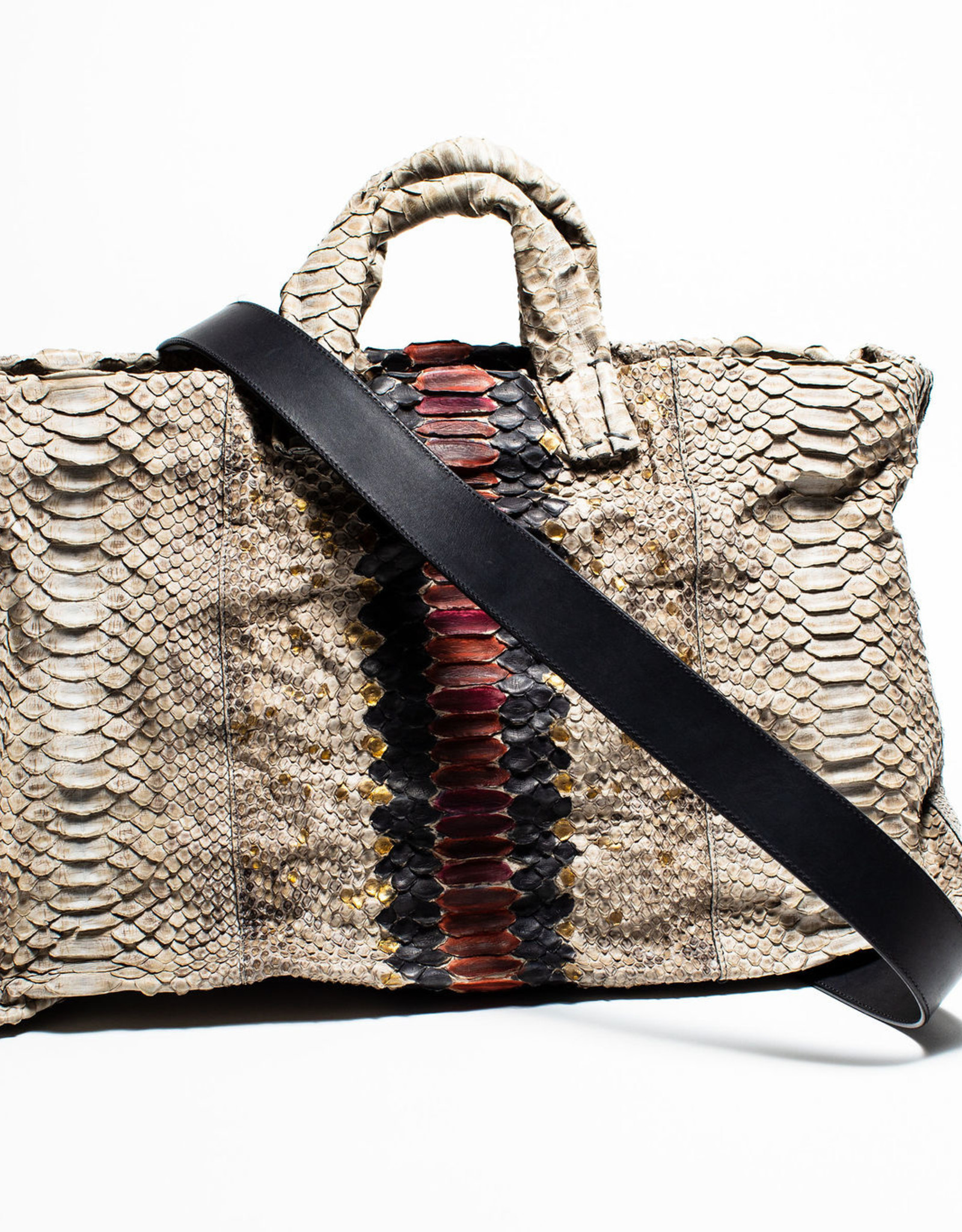 Simona Tagliaferri Special Hand Painted Big Anima Bag