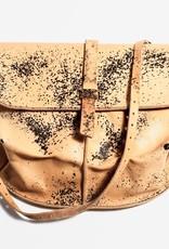 Esde Leather Postman Bag - Rust