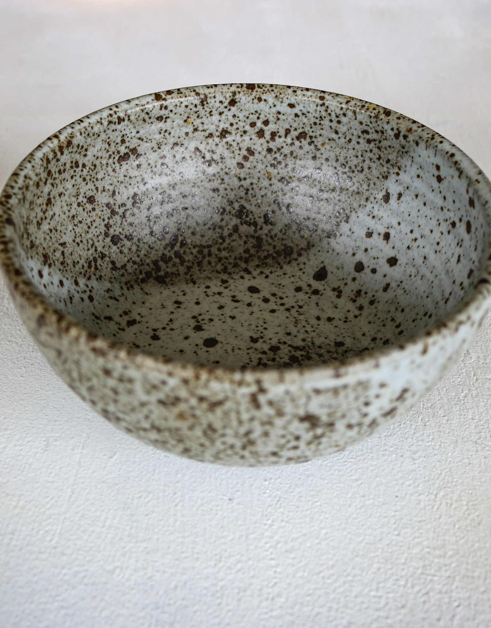 speckled cereal bowl