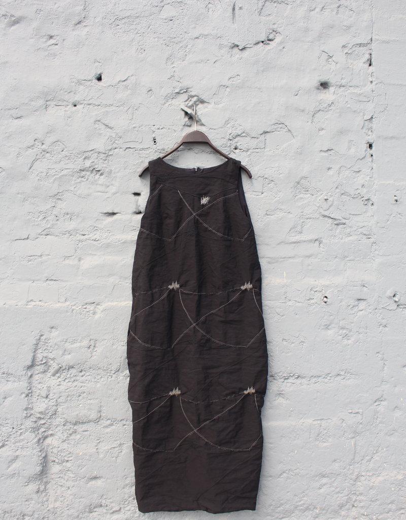 Simona Tagliaferri Long Black Dress