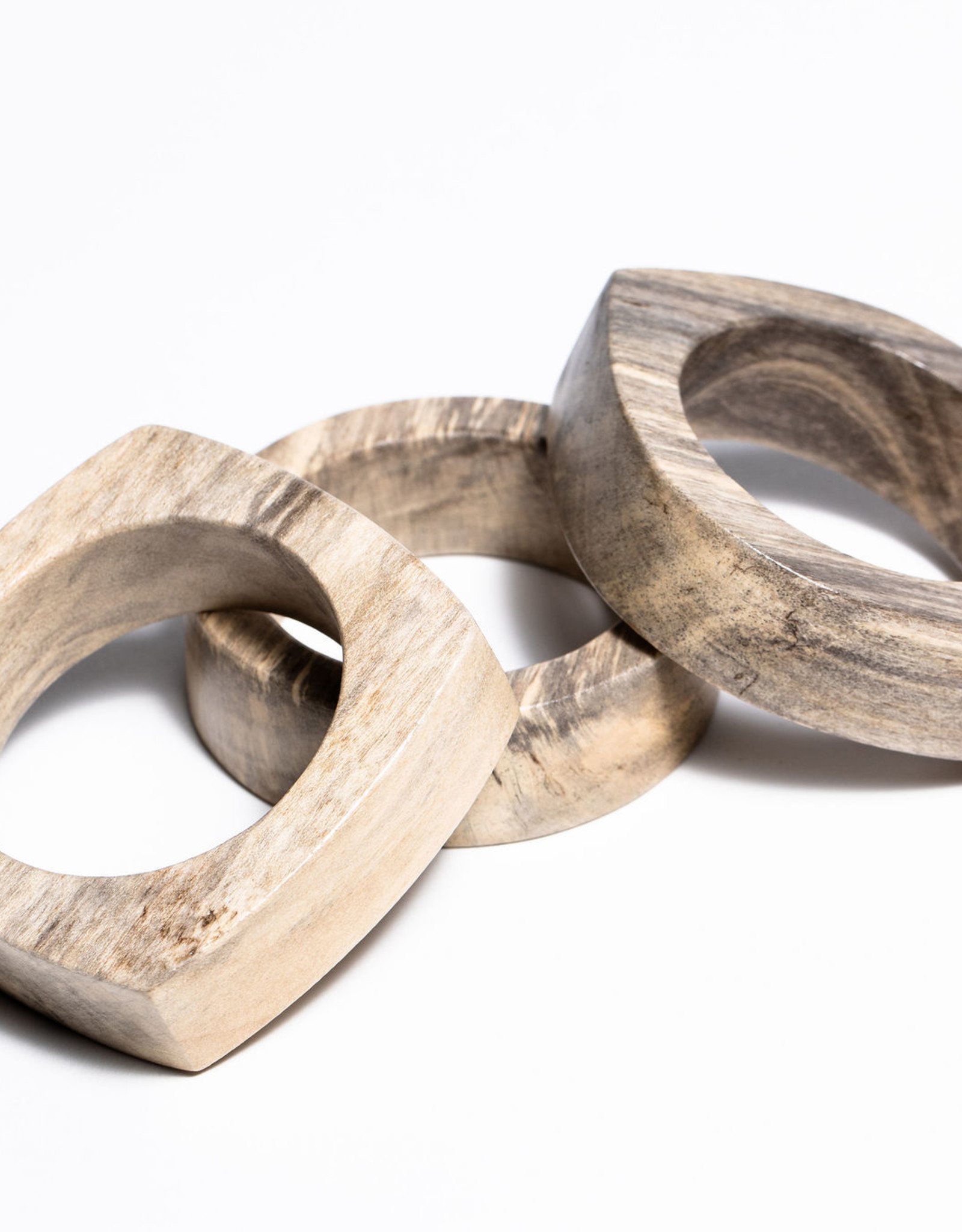 Mari Obeche Wood Bangle