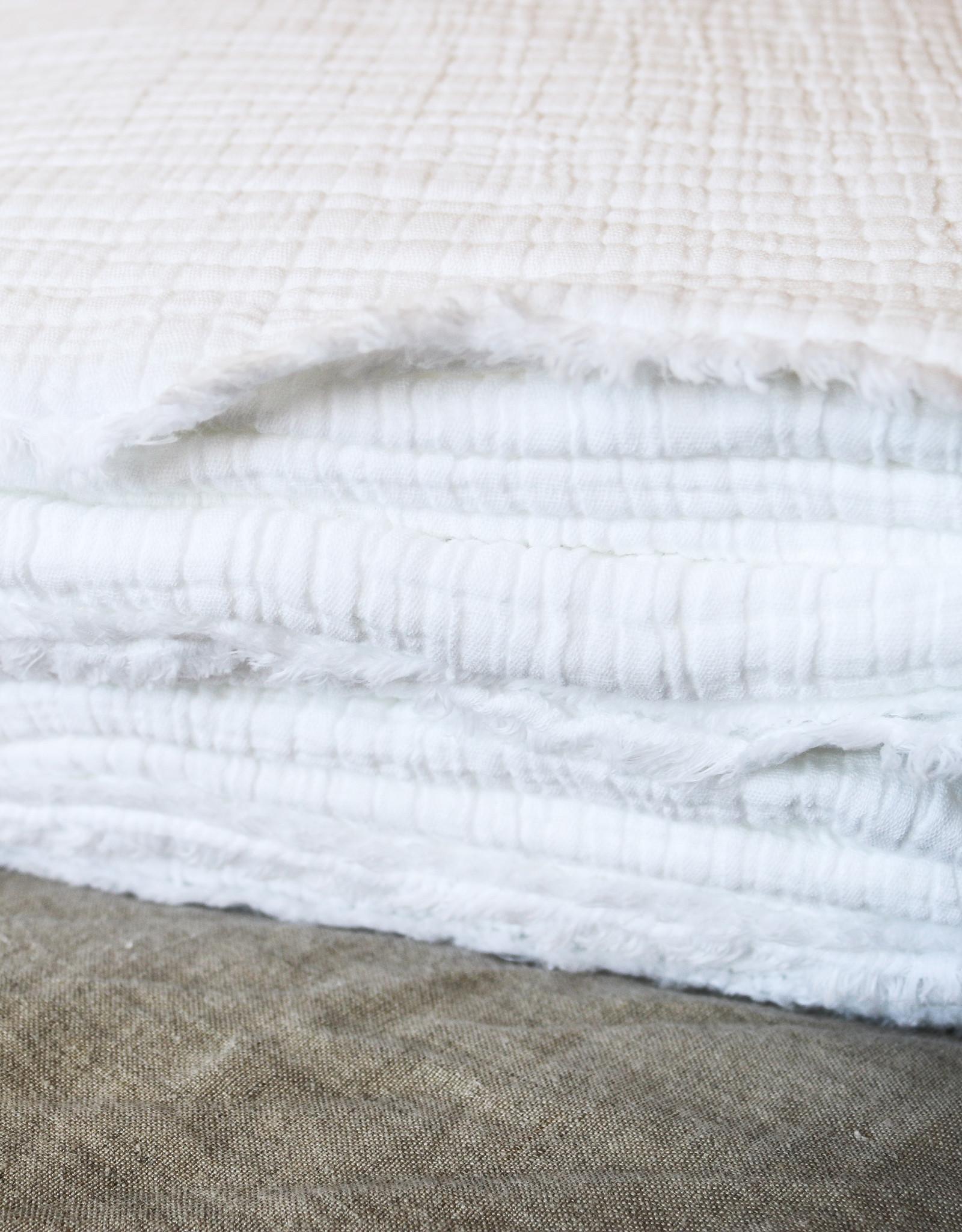 Organic Matelasse Blanket