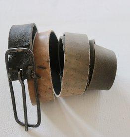 TAGLIO VIVO 10cm Buckle Belt - Asfalto