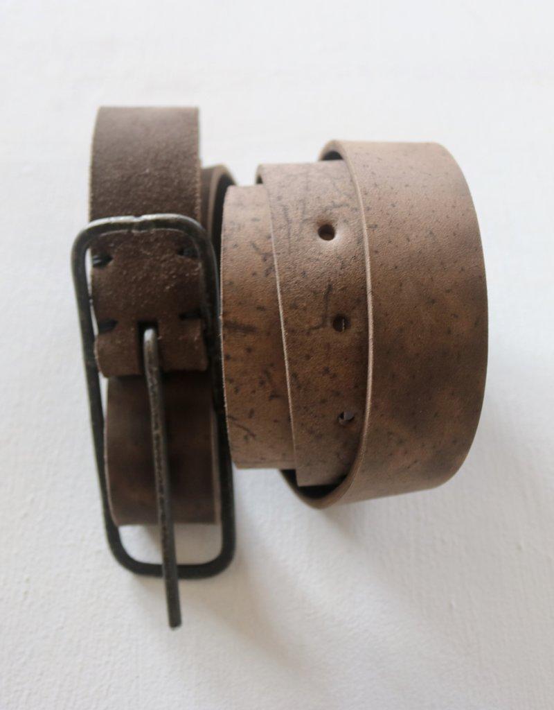 TAGLIO VIVO 10cm Buckle Belt - Moro