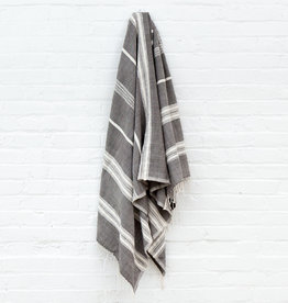 ADEN COTTON BATH TOWEL - Grey
