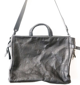 Big Anima Calf Bag - Black