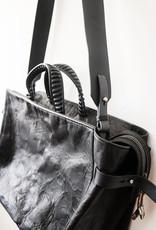 Big Anima Calf Bag - Black
