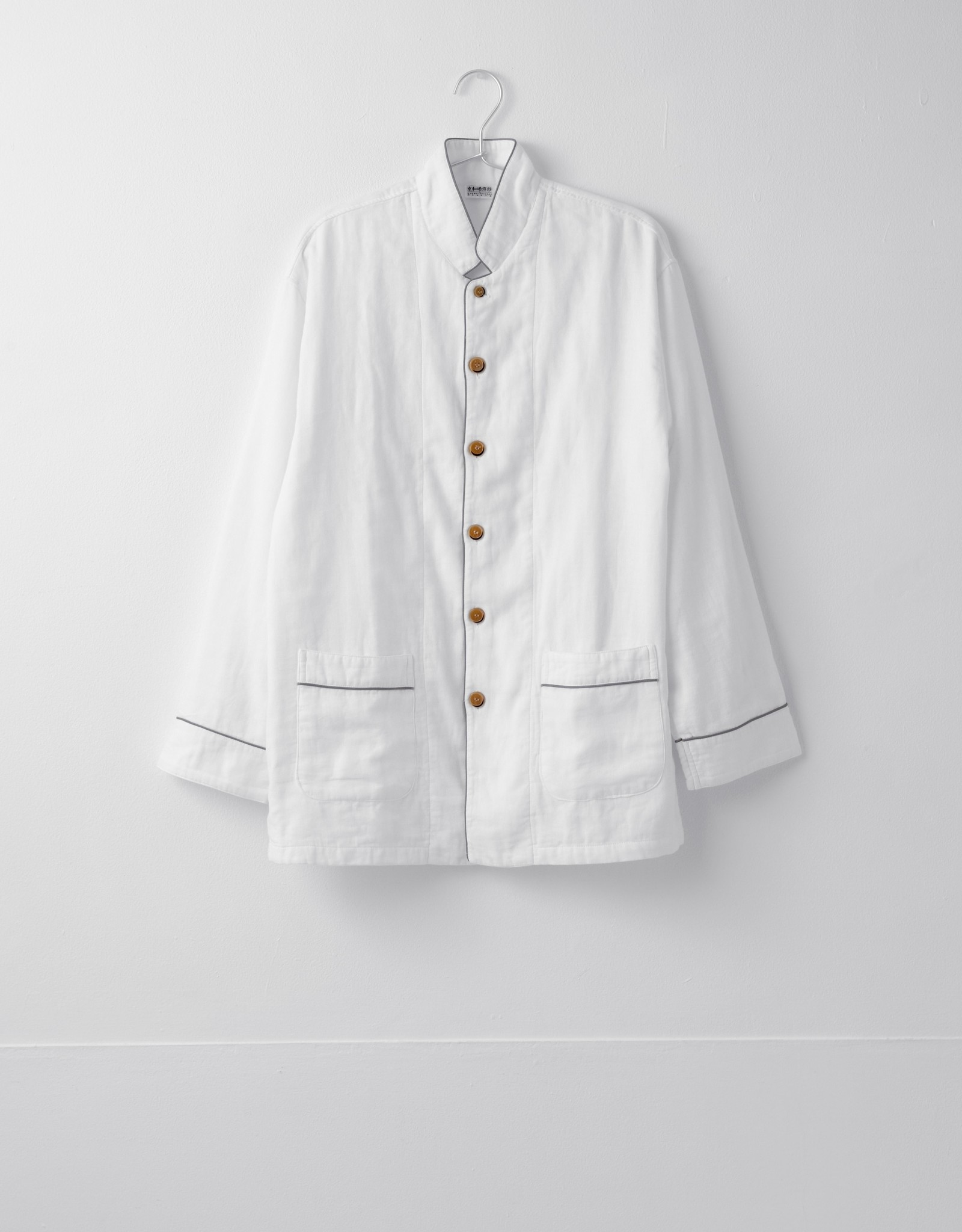 2 Layers Gauze Pajama set - Grey