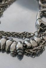 BR614 GOTI silver bracelet
