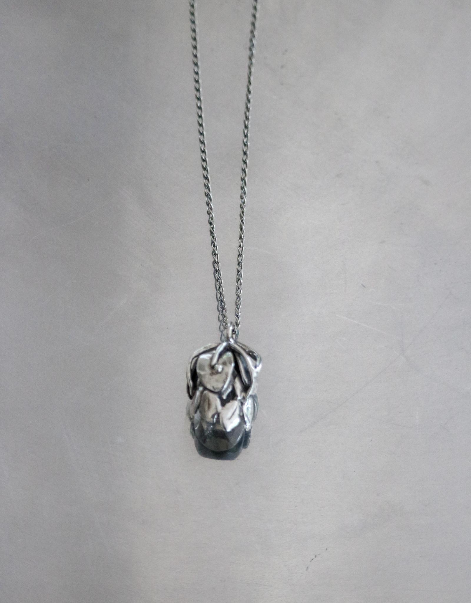 CN1149 GOTI silver necklace