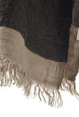 The Belgian Towel Fouta - Black stripe