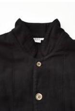 Black-dyed 2 Layers Gauze Pajamas Set [Kyo Wazarashi Mensya]