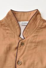 Persimmon-dyed 2 Layers Gauze Pajamas Set [Kyo Wazarashi Mensya]