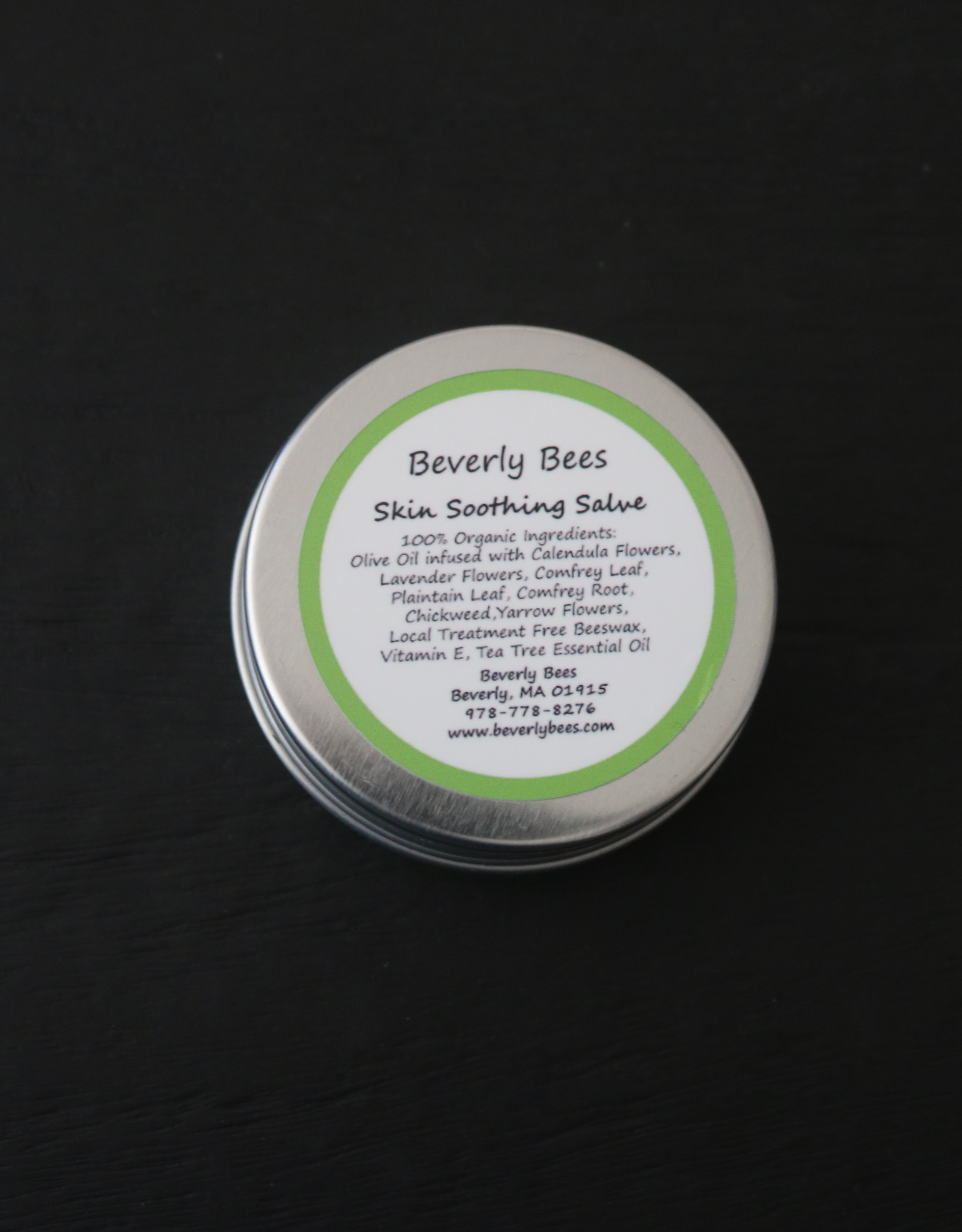 Beverly Bees Organic Skin Soothing Salve