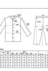 Herbal-dyed 2 Layers Gauze Pajamas Set Charcoal Grey [Kyo Wazarashi Mensya]