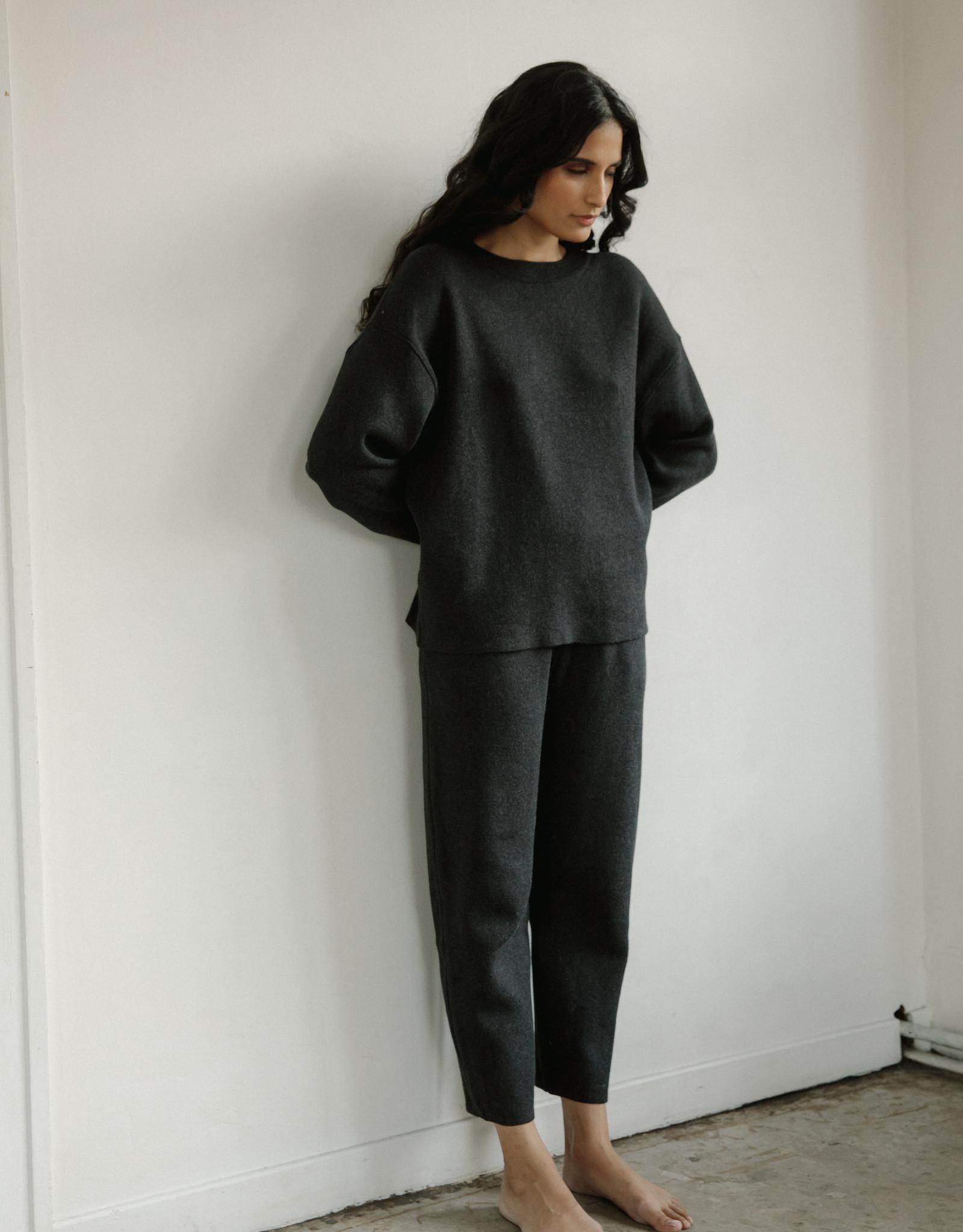 Bare Knitwear xs-s Graphite Lounge Crew