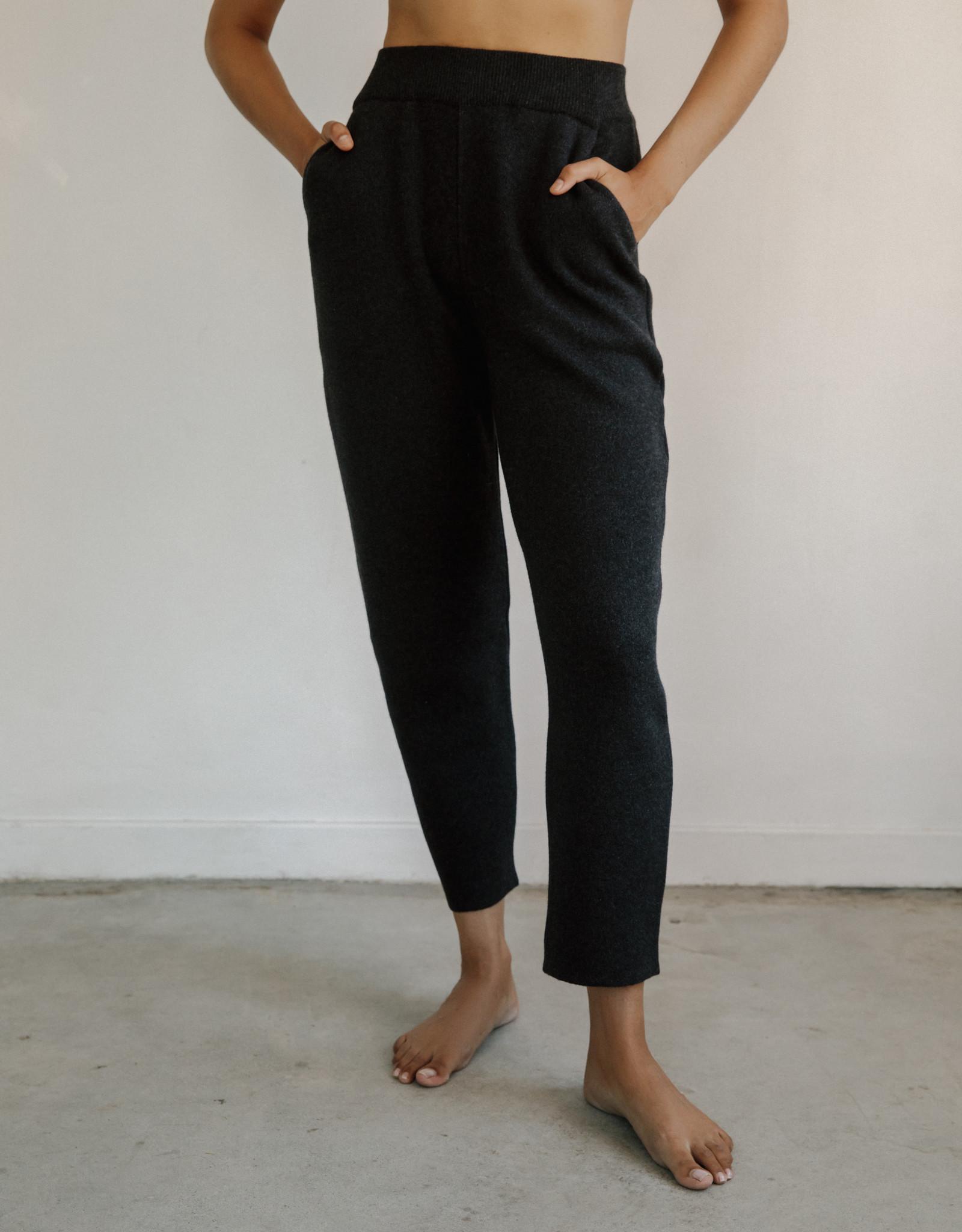 Bare Knitwear xs-s Graphite Lounge Pant