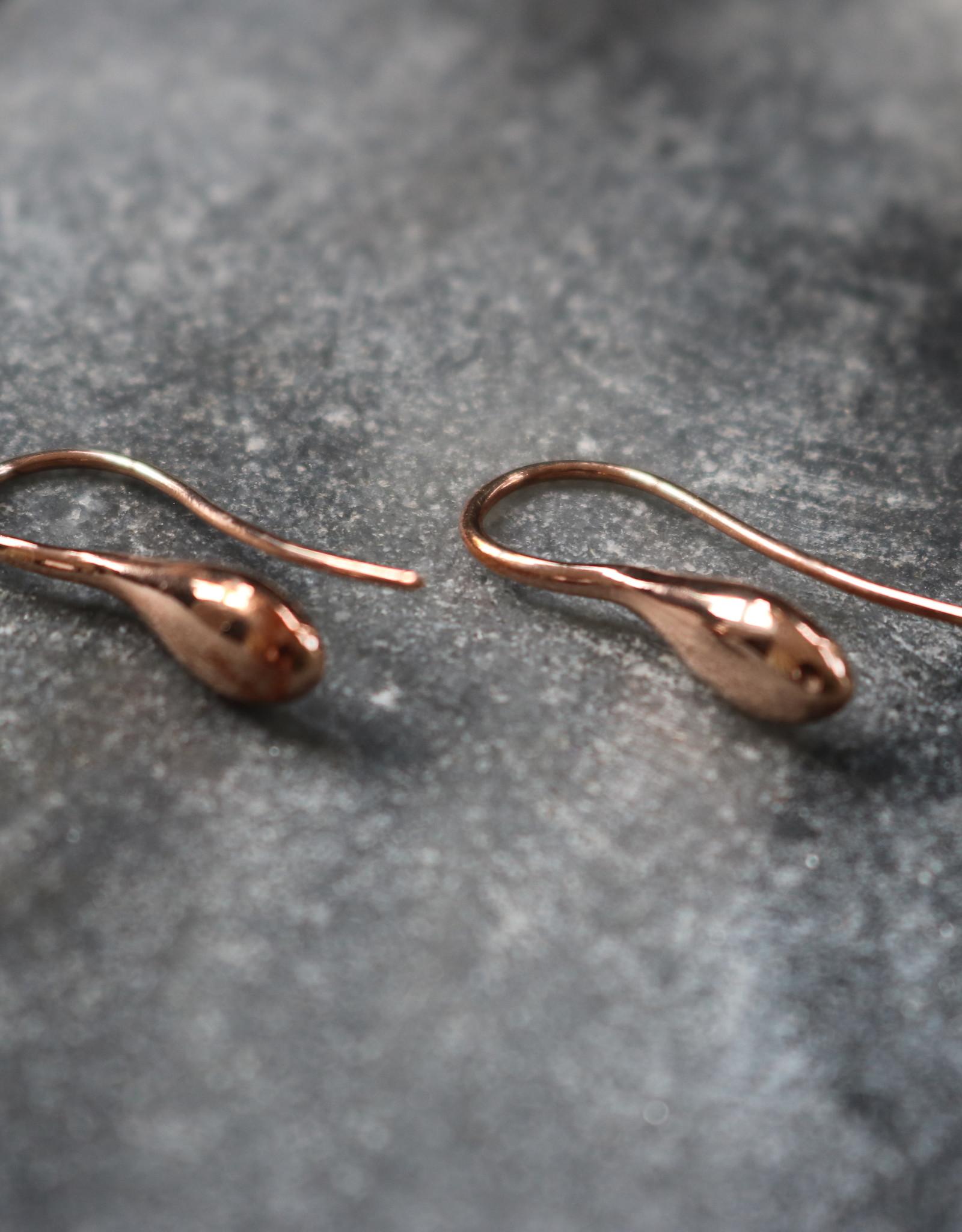 Simona Tagliaferri Pink Gold 9 kt Earrings