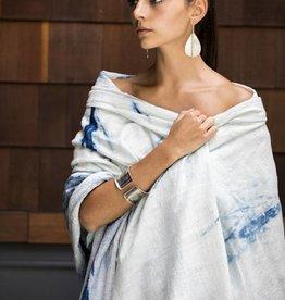 Maddalena Forcella Indigo Arashi Shawl