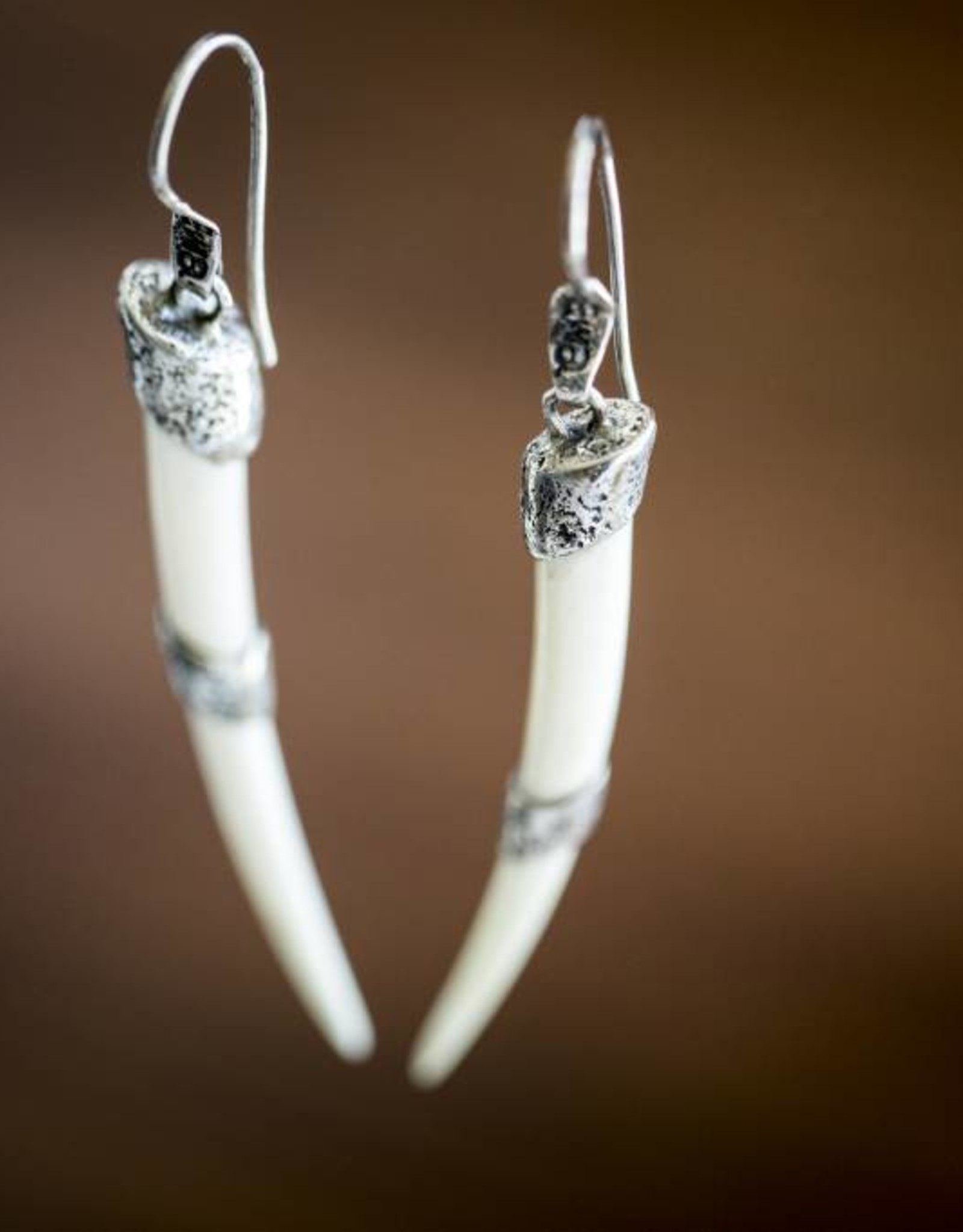EWA Tika Tusk Earrings