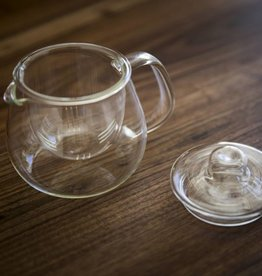 Kinto Heat-resistant glass teapot set - small