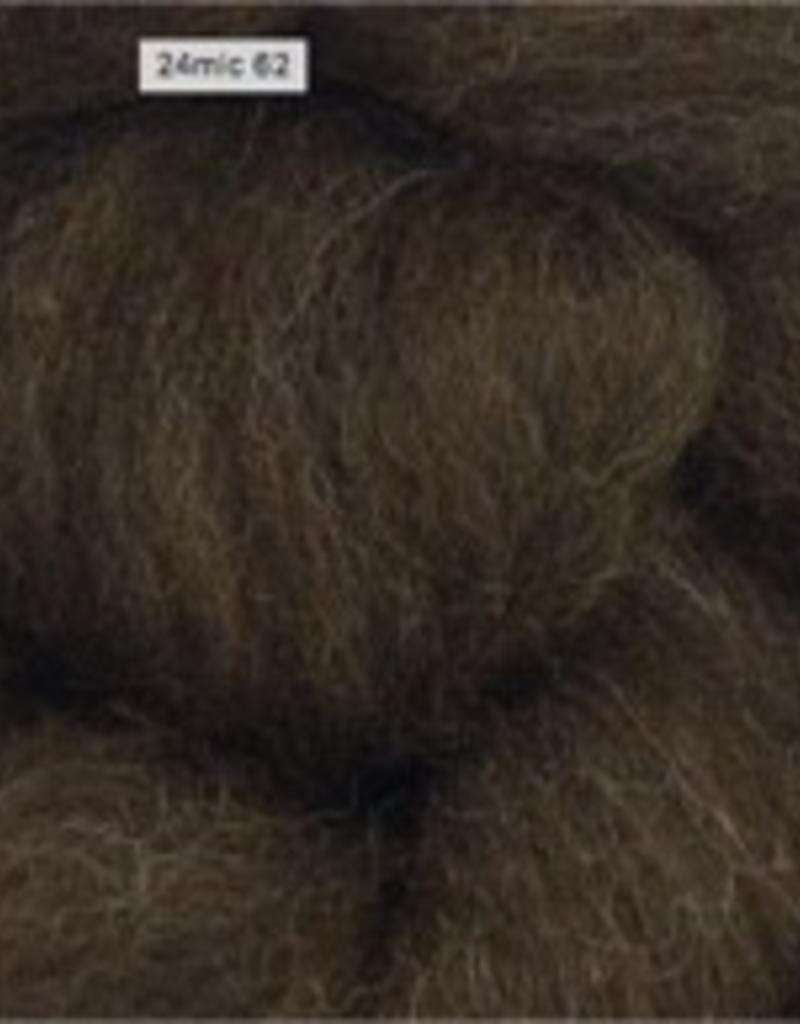 Maddalena Forcella   Brown Merino Wool and Silk Scarf