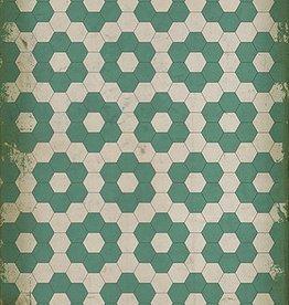 Water Lilies Vintage Floorcloth